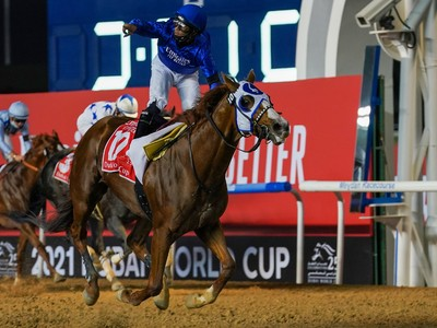 Review: American Raider Wins Twenty-Fifth Running Of The Dub ... Image 3